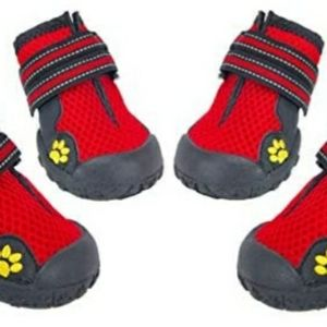 Waterproof Dog shoes 4 pieces.